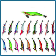 Jig Squid Attractive et Vivid en Multi-Couleur