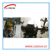 Pompe de 0,37kw en acier inoxydable sanitaire en acier inoxydable