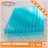 polycarbonate skylight roofing panel/pc hollow roof sheet