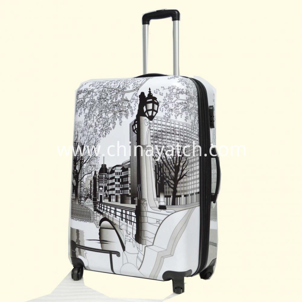 Aluminum Dull Silver Trolley