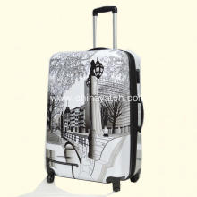Good Quality for China New Fashion Elegant Hard Pc Spinner Trolley Suitcase Travel Case, Trolley Case Fashion Printing ABS&PC Luggage Set export to South Africa Manufacturer
