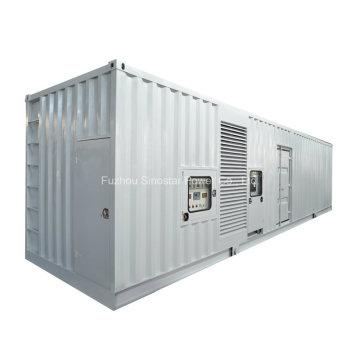 Бесшумный дизельный генератор от 10 кВт до 1800 кВт