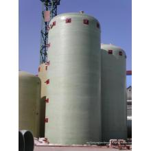 Réservoir de stockage d'eau de GRP ou de Gfrp