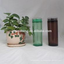 respetuoso del medio ambiente alta calidad simple botella de agua plástica modificada para requisitos particulares