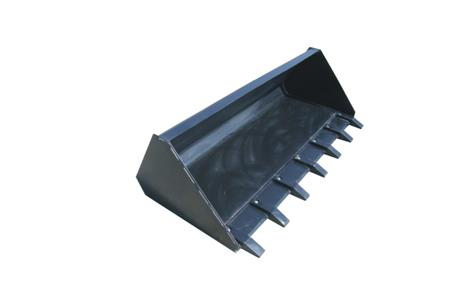 Skid Steer Loader Tooth Bucket