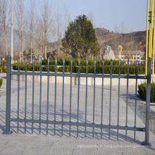 flèche aluminium décoratif clôture panneau composite fabrication d'usine