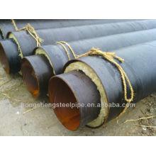 Tubo de isolamento pré-fabricado e enterrado
