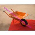 Carretilla más popular con rueda de goma 4.00-8