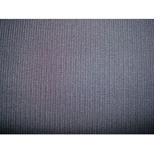 Tissu à rayures en jacquard teint en fil de fantaisie
