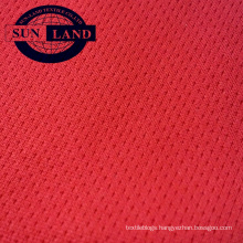 100 polyester knitted micro mesh fabric with wicking treatment