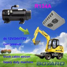 air Kompressor 12 24 volt for farm tractor four wheel drive cabin air conditioning
