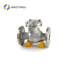 JKTLPC116 control de flujo aire compresor acero al carbono elevación válvula de retención animación