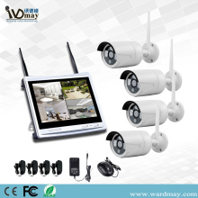 "4CH 1.3 / 2.0MP Wifi NVR Kits da na'urar ""12"""