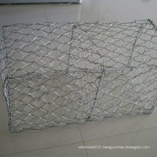 Al (5%) +Zn95% Double Twist Gabion Mesh
