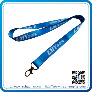 Wholesale Cheap Custom Printed Polyester Neck Lanyards