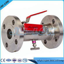 Flange End Double Block Bleed DBB Valve