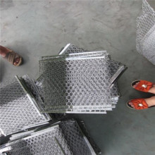 Galvanized Hexagonal Wire Panel