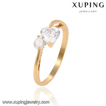 13841 Xuping new model ring, gold plated finger rings for girls