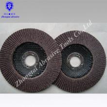 4inch, 5inch, metal de lustro do disco abrasivo da aleta de pano 7inch, de aço inoxidável