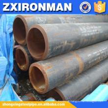 astm A36 um tubo de aço sem emenda de carbono 106 grau b agenda 80 para petróleo