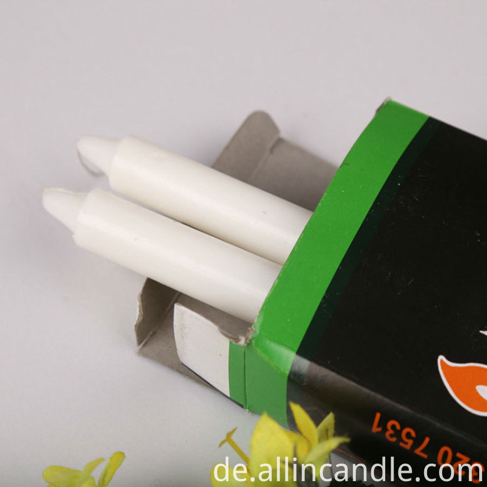38g white candle