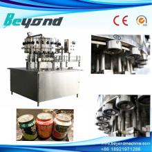 Sistema de fabricación de llenado de bebidas carbonatadas de control PLC