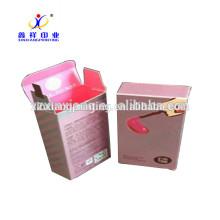 China fabricante de atacado de papelão de embalagem de luxo caixa de perfume de papel