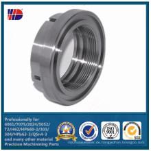 CNC Edelstahl Bearbeitung Produkt Maschinen CNC Teile (WKC-341)