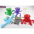 """7.5 """"altura grúa blanca con paquete de coche mascota juguetes personalizados juguete de animales rellenos Bos1124"""