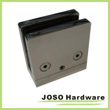 Collier en verre à base plate en acier inoxydable 304 Type carré