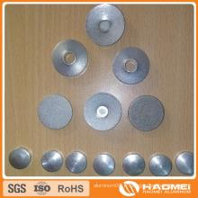 Cercle d'aluminium plat ou bombé / Concave