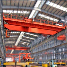 China for Double Girder Crane main hook electromagnetic bridge crane export to Cape Verde Supplier