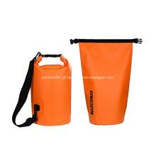 Caminhada ao ar livre 500D PVC durável 10L impermeável flutuante saco seco