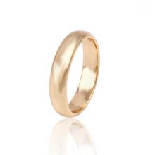 13635 Xuping simple new design ouro anéis de noivado