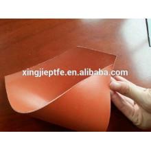 Tecido de vidro revestido de silicone