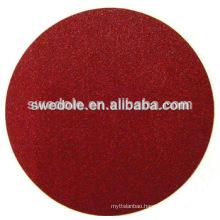 No Holes Hook&Loop hook and loop fastener Aluminum Oxide sanding disc