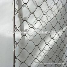 Handgemachte gewebte Zoo Mesh Stahl Kabel Drahtseil Netting Preis Hersteller