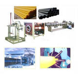 PE Jacket Insulation Pipe Production Line