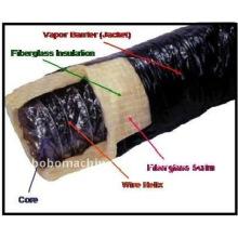 Flexible Rohrleitungsmaschine mit glasfaserverstärktem Gittergewebe