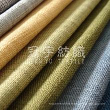 Toile polyester tissé de tissu décoratif pour canapé