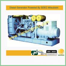 Conjunto de gerador Mitsubishi 1360KW / 1700KVA