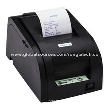 Dot-matrix Kitchen Printer with Cutter, 76mm Paper, 4.4 Lines/Second, Double Cutter
