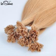 Remy de gama alta Remy doble cutícula humana alineadas extensiones de cabello sin enredo