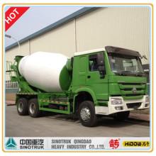 Миксер HOWO перевозит на 8 кубических грузовик