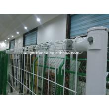 GM высокого качества с порошковым покрытием двойной петли сетки металлический садовый забор от Anping Manufacture
