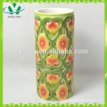 Hot Selling Red Orange Flower Home Decor Vases Wholesale