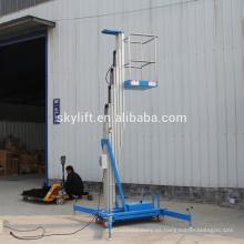 Escalera de aluminio vertical eléctrica personal