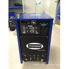 DC Inverter TIG MOS soldador / soldadura TIG500PAC / DC