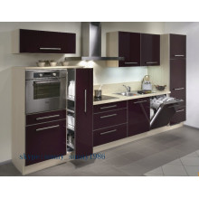Customized Wood Cabinet Kitchen Cabinets (high glossy)