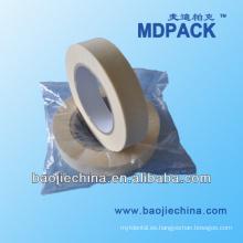 Cinta de envoltura de papel crepé, cinta de esterilización Chenical, cinta médica